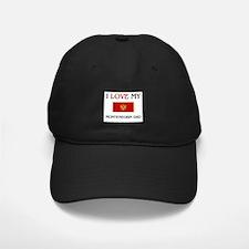 I Love My Montenegrin Dad Baseball Hat