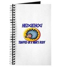 Hedgehog Trapped In A Man's Body Journal