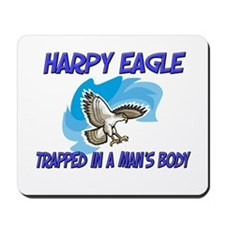 Harpy Eagle Trapped In A Man's Body Mousepad