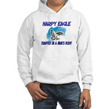 Harpy Eagle Trapped In A Man's Body Hoodie