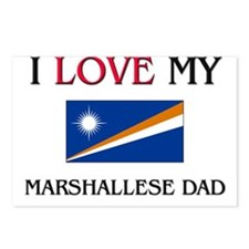 I Love My Marshallese Dad Postcards (Package of 8)