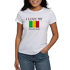 I Love My Malian Dad Tee
