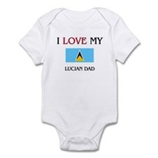 I Love My Lucian Dad Infant Bodysuit