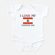 I Love My Lebanese Dad Infant Bodysuit