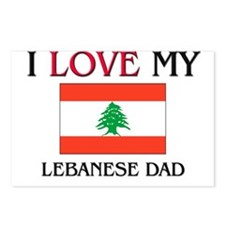 I Love My Lebanese Dad Postcards (Package of 8)