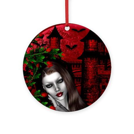 GOTHIC ROSE Ornament (Round)