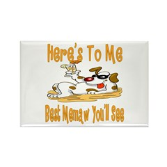 Cheers For Memaw Rectangle Magnet (10 pack)