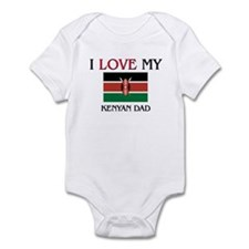 I Love My Kenyan Dad Infant Bodysuit