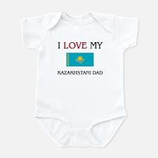I Love My Kazakhstani Dad Infant Bodysuit