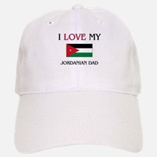 I Love My Jordanian Dad Baseball Baseball Cap