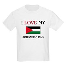 I Love My Jordanian Dad T-Shirt