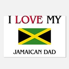 I Love My Jamaican Dad Postcards (Package of 8)