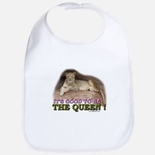 It's good to be The Queen Bib