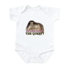It's good to be The Queen Infant Bodysuit