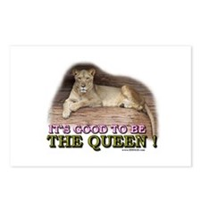 It's good to be The Queen Postcards (Package of 8)