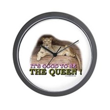 It's good to be The Queen Wall Clock