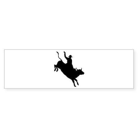 Bull Rider Bumper Sticker (10 pk)