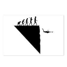 Base Jumper Postcards (Package of 8)