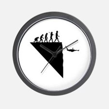 Base Jumper Wall Clock