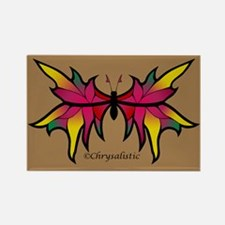 Garden Butterfly Rectangle Magnet