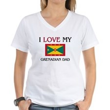 I Love My Grenadian Dad Shirt
