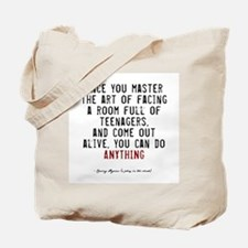 Teacher Quote Tote Bag