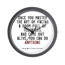 Teacher Quote Wall Clock