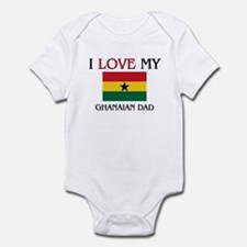 I Love My Ghanaian Dad Infant Bodysuit