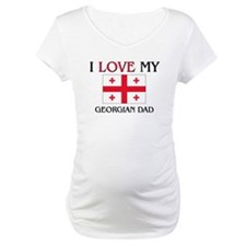 I Love My Georgian Dad Shirt