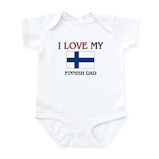 I Love My Finnish Dad Infant Bodysuit