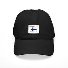 I Love My Finnish Dad Baseball Hat