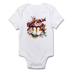 Psychedelic Aries Infant Bodysuit