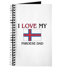I Love My Faroese Dad Journal