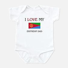 I Love My Eritrean Dad Infant Bodysuit
