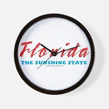 Florida - Sunshine state Wall Clock