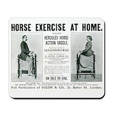 Mousepad Horse Exercise