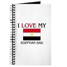 I Love My Egyptian Dad Journal