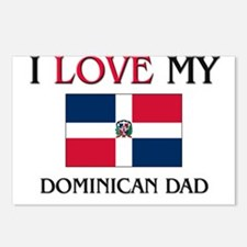 I Love My Dominican Dad Postcards (Package of 8)