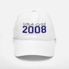 MBA Grad 2008 (Blue) Baseball Baseball Cap