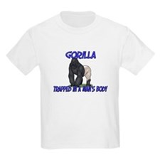 Gorilla Trapped In A Man's Body T-Shirt
