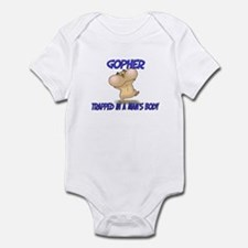 Gopher Trapped In A Man's Body Infant Bodysuit