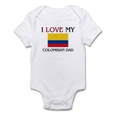 I Love My Colombian Dad Infant Bodysuit