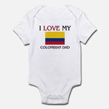 I Love My Colombian Dad Infant Bodysuit