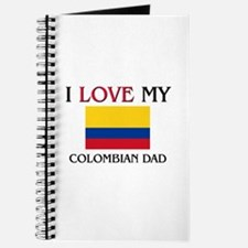 I Love My Colombian Dad Journal