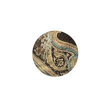 Cocoa Carnivale Harp Mini Button