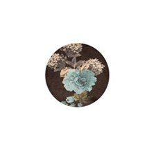 Cocoa Carnivale Bloom Mini Button