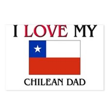 I Love My Chilean Dad Postcards (Package of 8)