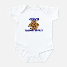 Gibbon Trapped In A Man's Body Infant Bodysuit