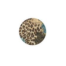 Cocoa Carnivale Leopard Mini Button