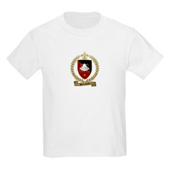 BABINEAU Family Crest Kids T-Shirt
